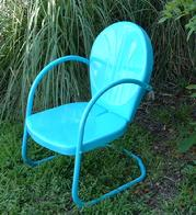 Turquoise Patio Chair 2 For $159