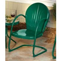 Superbe 2 Green Motel Chairs $159