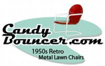 metal lawn chair, tulip chair, bouncer chair, shell chair, motel lawn chair, patio furniture