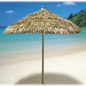 Genial Thatch Umbrella $179