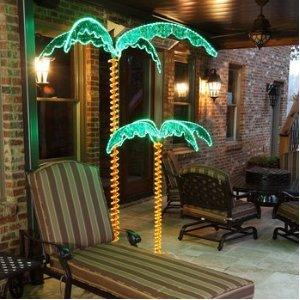2 Lighted Palm Tree Christmas Tree for $189
