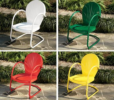 Retro Metal Lawn Chairs Canada